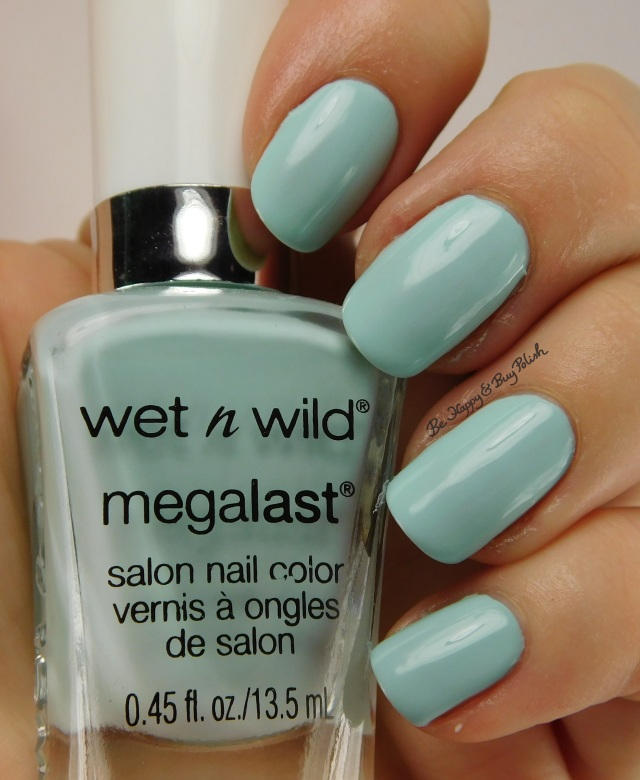 Wet N Wild Megalast Spring into the Wild Kiss My Mints | Be Happy And Buy Polish