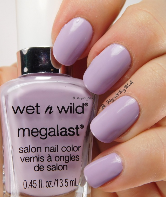 Wet N Wild Megalast Spring into the Wild Lay Out In Lavender | Be Happy And Buy Polish