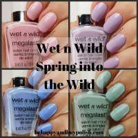 Wet N Wild Spring Into the Wild nail polish swatches + review PLUS comparison