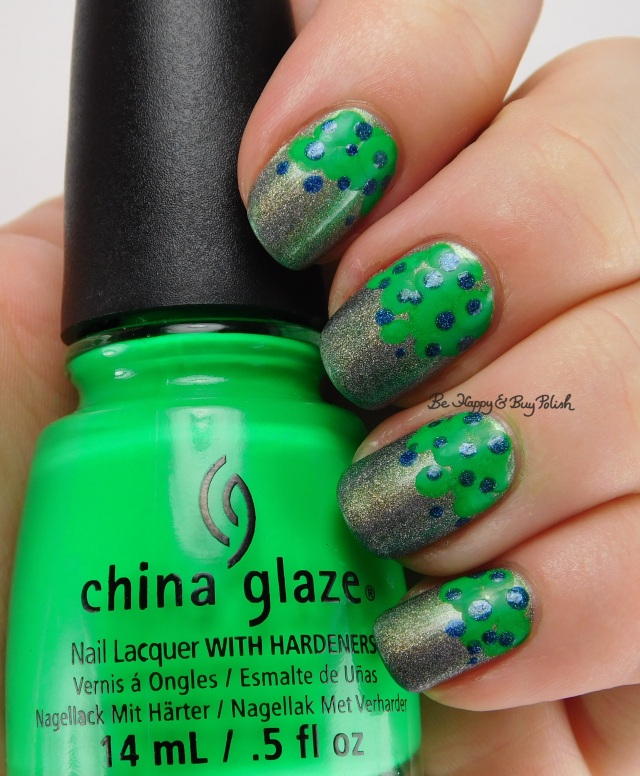 China Glaze Kiwi Cool-Ada, Girly Bits Cosmetics Lack of Pie, Celestial Cosmetics LE September 2015 | Be Happy And Buy Polish