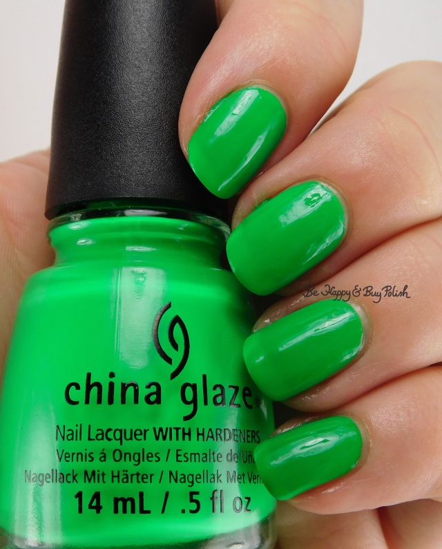 China Glaze Kiwi Cool-Ada | Be Happy And Buy Polish