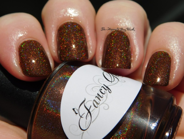 Fancy Gloss Dark Chocolate holo sun photo | Be Happy And Buy Polish