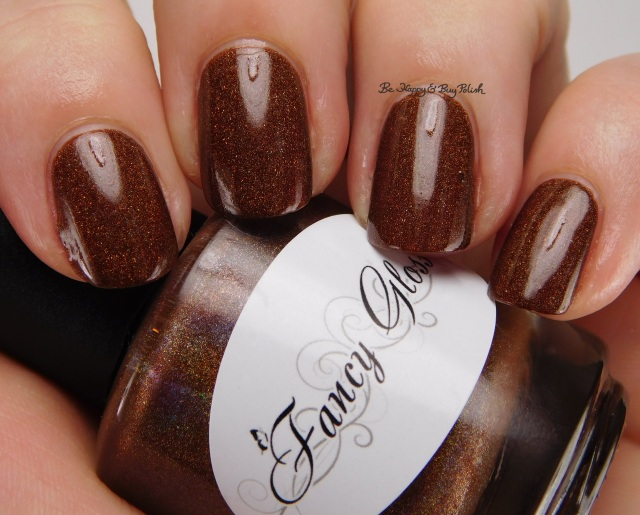 Fancy Gloss Dark Chocolate holo | Be Happy And Buy Polish