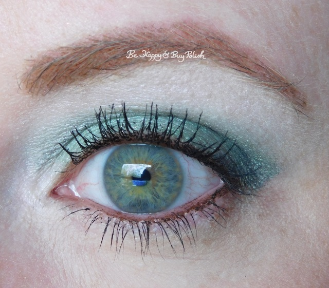 Glamour Doll Eyes It's So Fluffy, Bella Donna Remix, Rocket eyeshadows closeup | Be Happy And Buy Polish