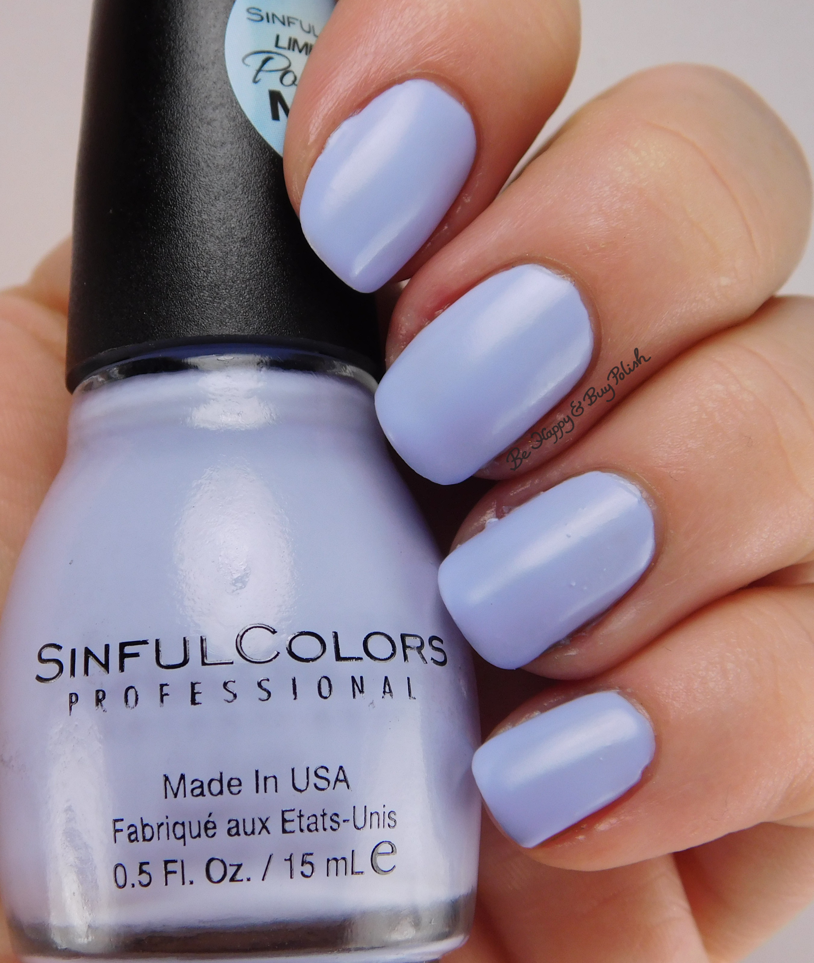 SinfulColors Porcelain Matte nail polish collection | Be Happy and ...
