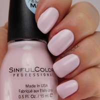 SinfulColors Porcelain Matte nail polish collection