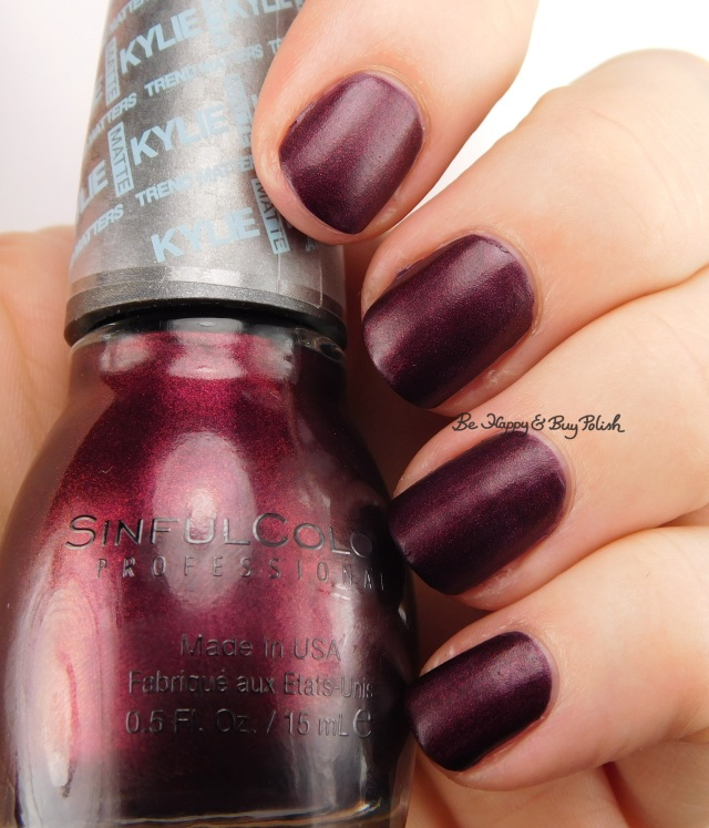 SinfulColors Haute Koffee Kylie Trend Matters | Be Happy And Buy Polish