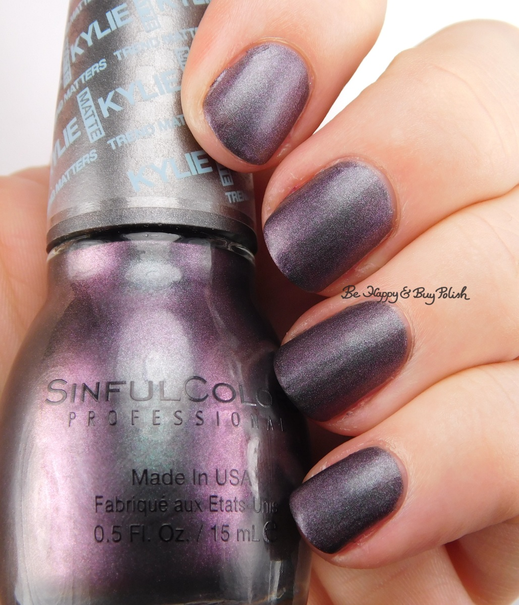 Sinful Colors Konstellation nail polish swatch + review [Kylie Trend Matters collection]