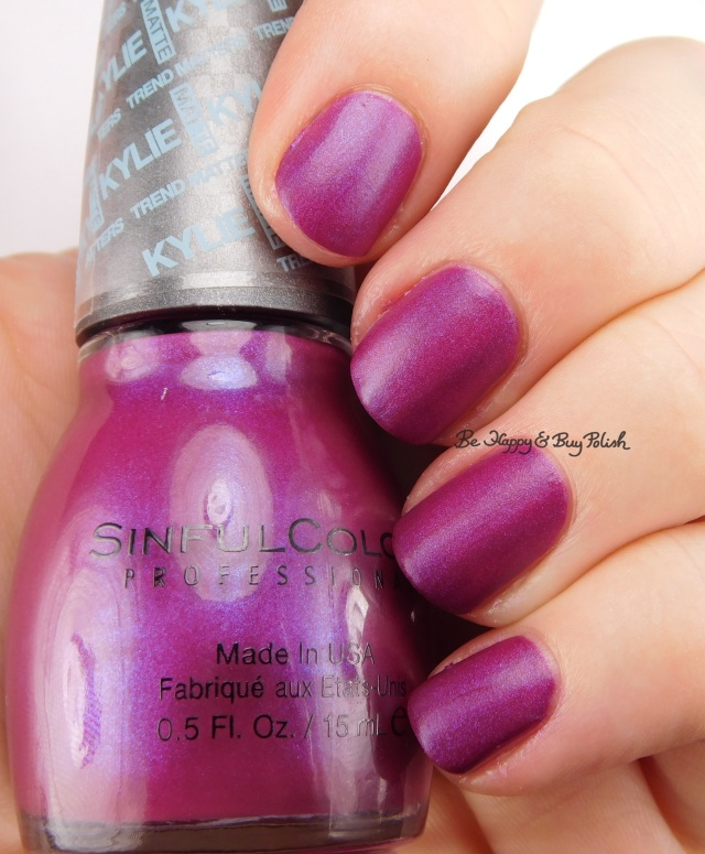 SinfulColors Korset Kylie Trend Matters | Be Happy And Buy Polish