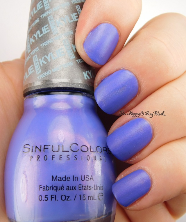 SinfulColors Purple Kraze Kylie Trend Matters | Be Happy And Buy Polish