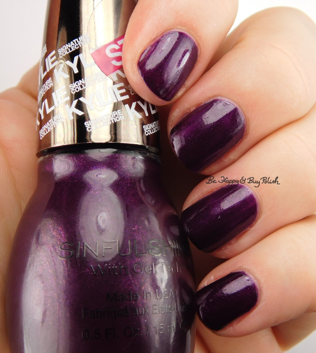sinful colors sinful shine karnival nail polish swatch review kylie signature collection. Black Bedroom Furniture Sets. Home Design Ideas