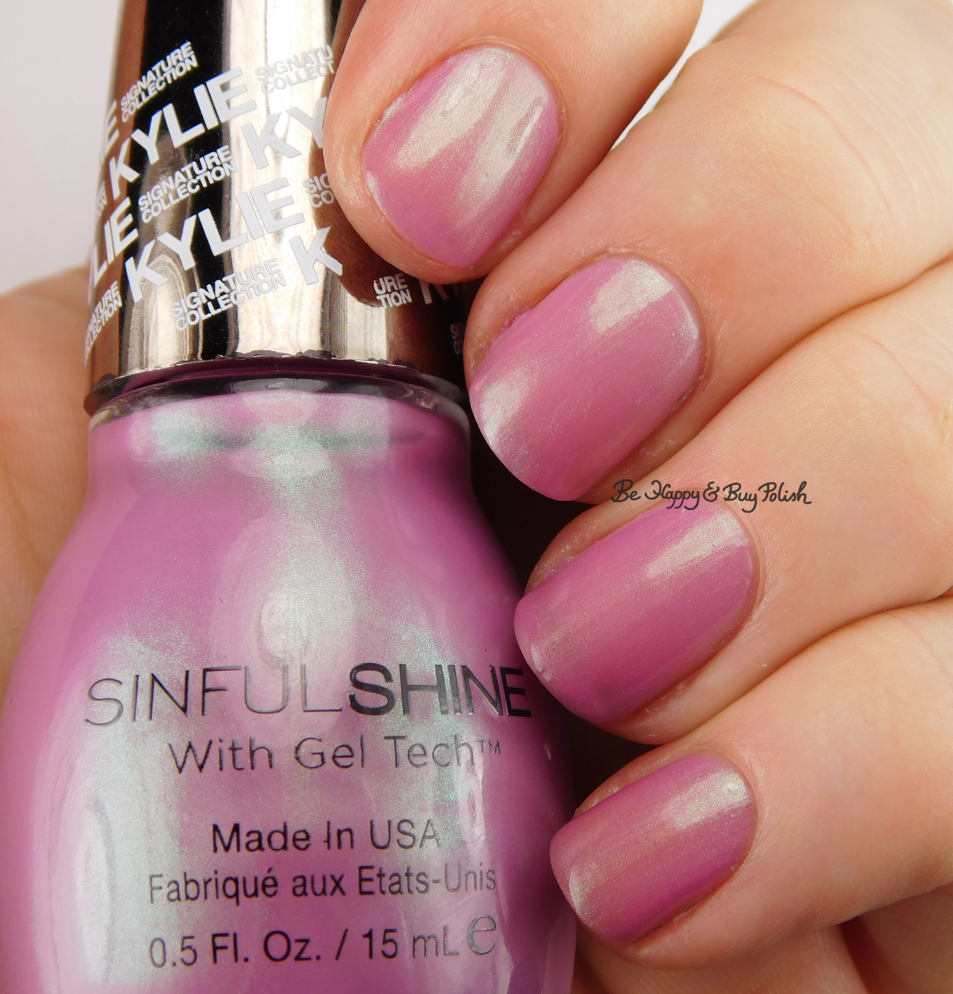 Sinful Colors Sinful Shine Miss Majesty nail polish swatch + review ...