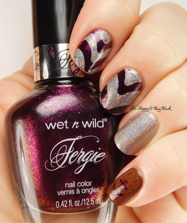 Wet n Wild Ferguson Crest Syrah, Fancy Gloss Dark Chocolate holo, Emily de Molly Cracks in the Walls | Be Happy And Buy Polish