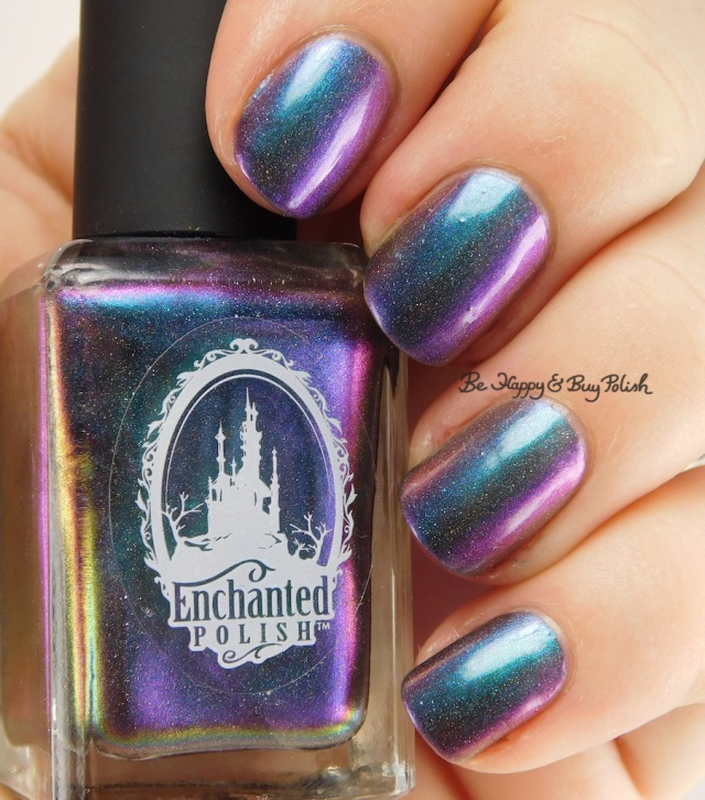 Enchanted Polish Magical Mystery Tour blue to purple shift | Be Happy And Buy Polish
