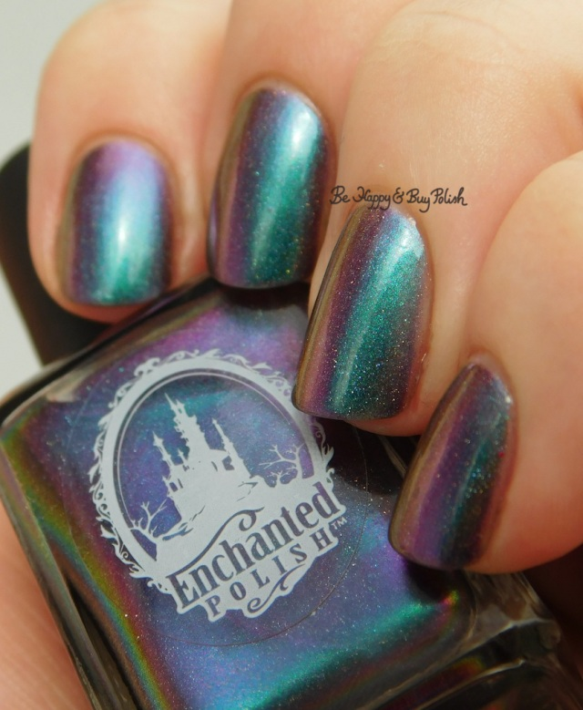Enchanted Polish Magical Mystery Tour purple to green shift | Be Happy And Buy Polish