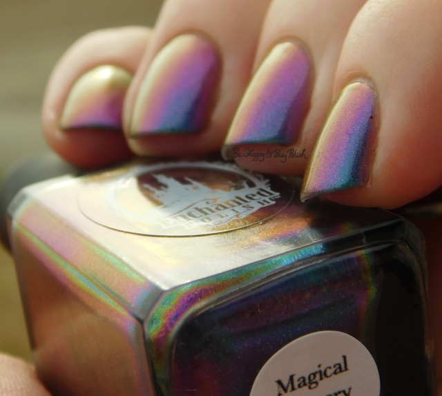 Enchanted Polish Magical Mystery Tour red to orange to purple to blue to green shift | Be Happy And Buy Polish