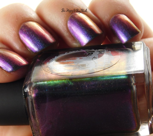 Enchanted Polish Magical Mystery Tour red to purple shift | Be Happy And Buy Polish
