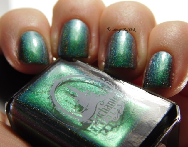 Enchanted Polish The Youth green to teal shift | Be Happy And Buy Polish