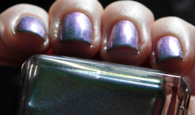 Enchanted Polish The Youth purple to blue shift | Be Happy And Buy Polish