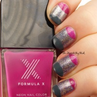 Pick Three Polishes: Formula X Aphrodite, Phenomena, Massive + nail art