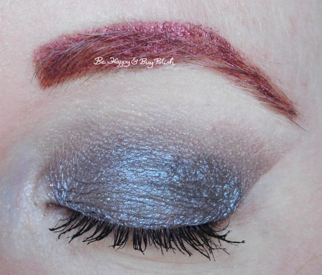 Glamour Doll Eyes Chasing Ghouls, Spider-Sense, Malicious eyeshadows eye closed | Be Happy And Buy Polish