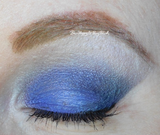 Glamour Doll Eyes IT'S SO FLUFFY, Sex Appeal, Tattooed Remix EOTD closeup | Be Happy And Buy Polish