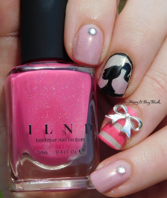 Happy Birthday Barbie nail art manicure sun photo | Be Happy And Buy Polish