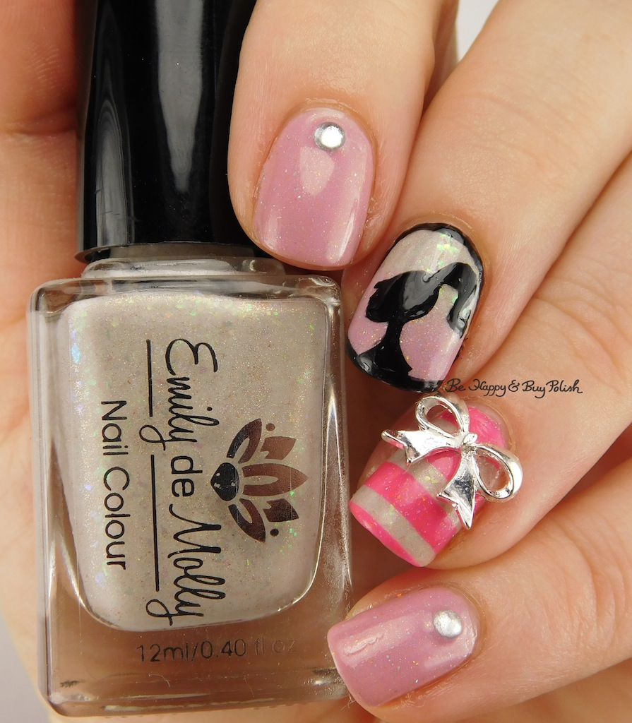 Manicure for roselynn of manicured marvelous be happy and buy happy birthday barbie nail art manicure be happy and buy polish prinsesfo Images