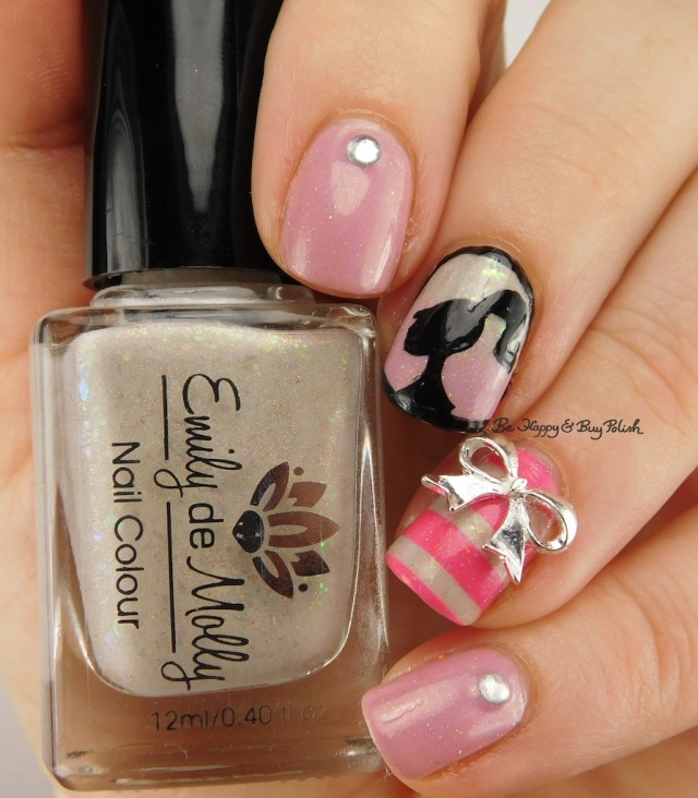 Happy Birthday Barbie nail art manicure | Be Happy And Buy Polish