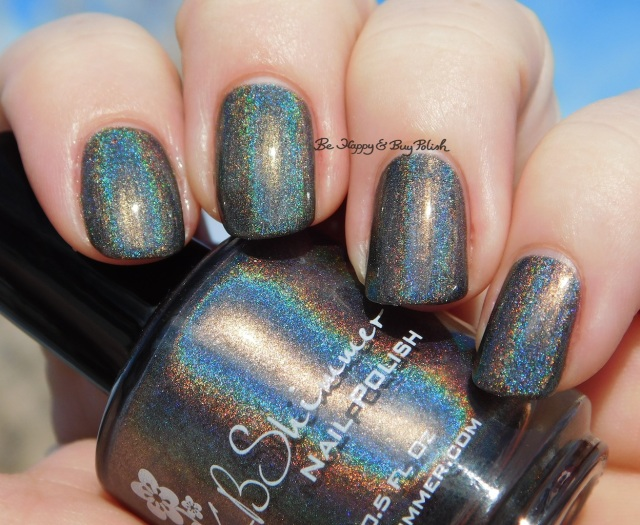 KBShimmer Coal in One sun photo | Be Happy And Buy Polish