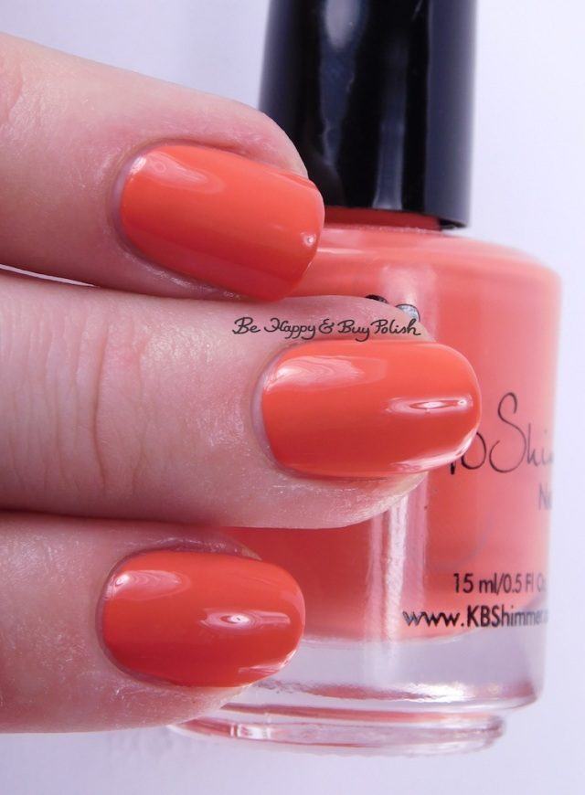 KBShimmer For Fox Sake 3-finger pose | Be Happy And Buy Polish