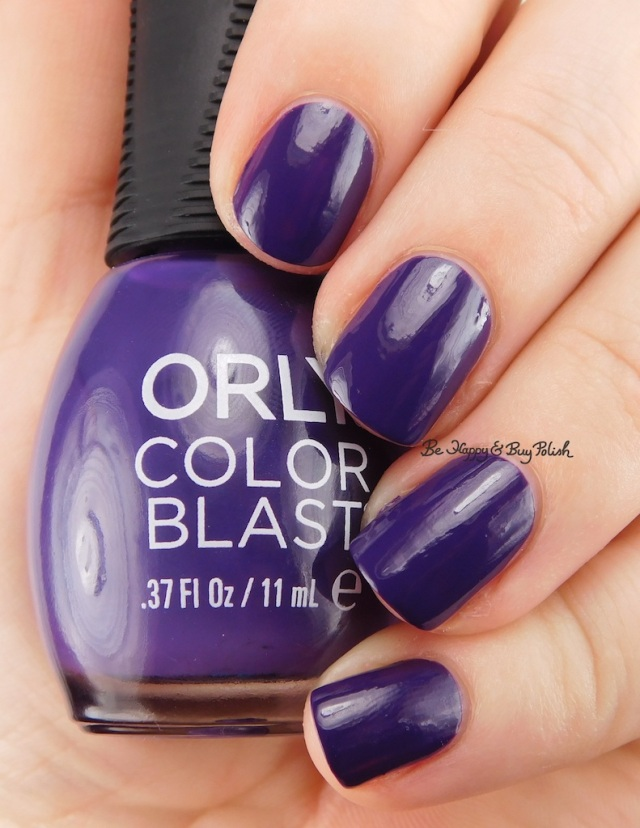 Orly Color Blast Extreme Vanity | Be Happy And Buy Polish