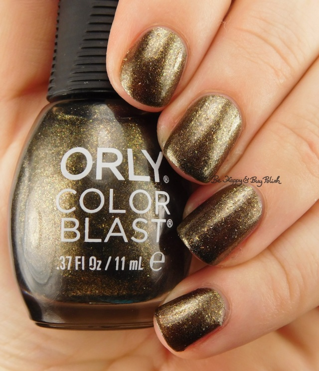 Orly Color Blast Sleeping Death | Be Happy And Buy Polish