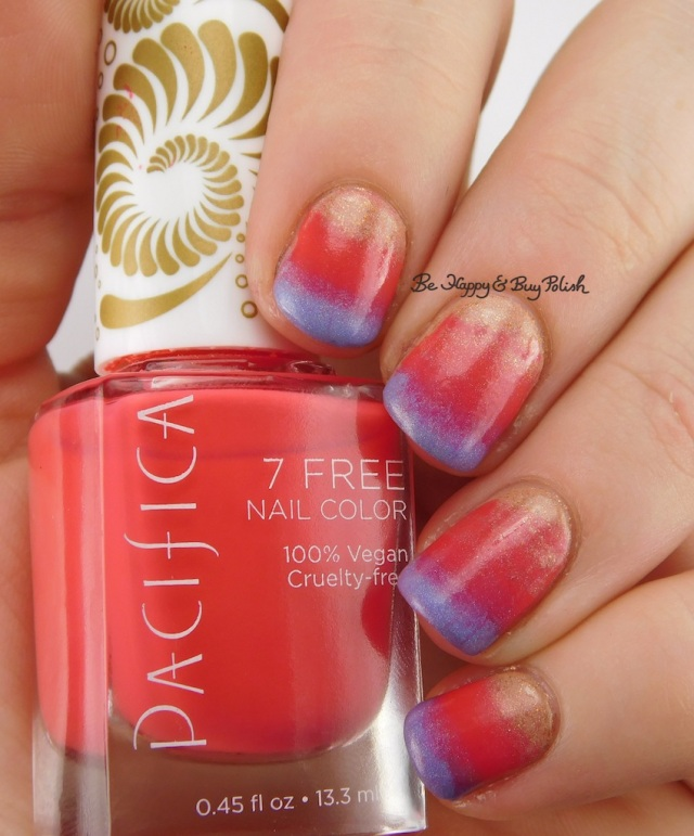 Pacifica Fluorescent Sunset, Ever After Flesh Popsicle, Vapid Lacquer Pegasus Poots | Be Happy And Buy Polish