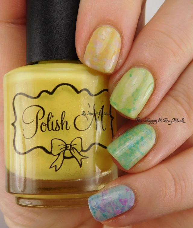 Polish 'M Rest + Relaxation nail polish collection spotted nail art manicure | Be Happy And Buy Polish