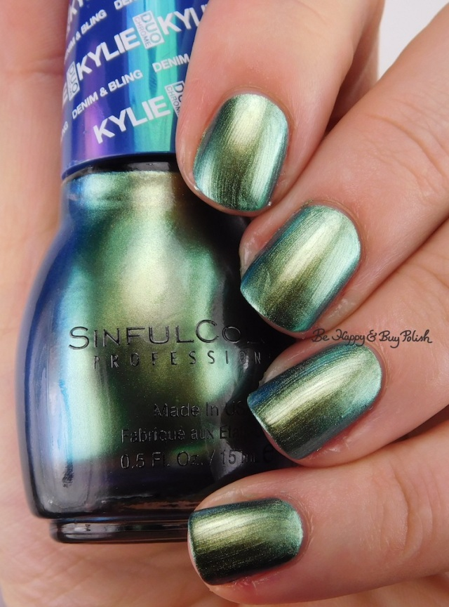 SinfulColors Kameleon Kylie Denim + Bling | Be Happy And Buy Polish