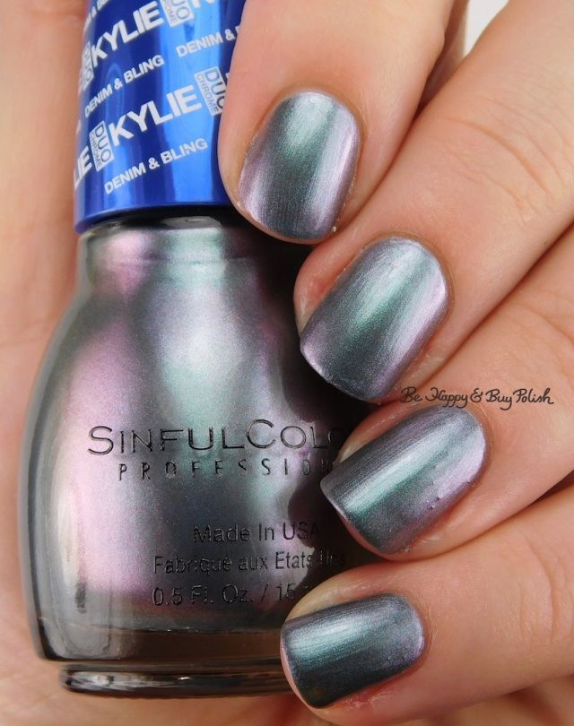 SinfulColors Kleopatra Kylie Denim + Bling | Be Happy And Buy Polish