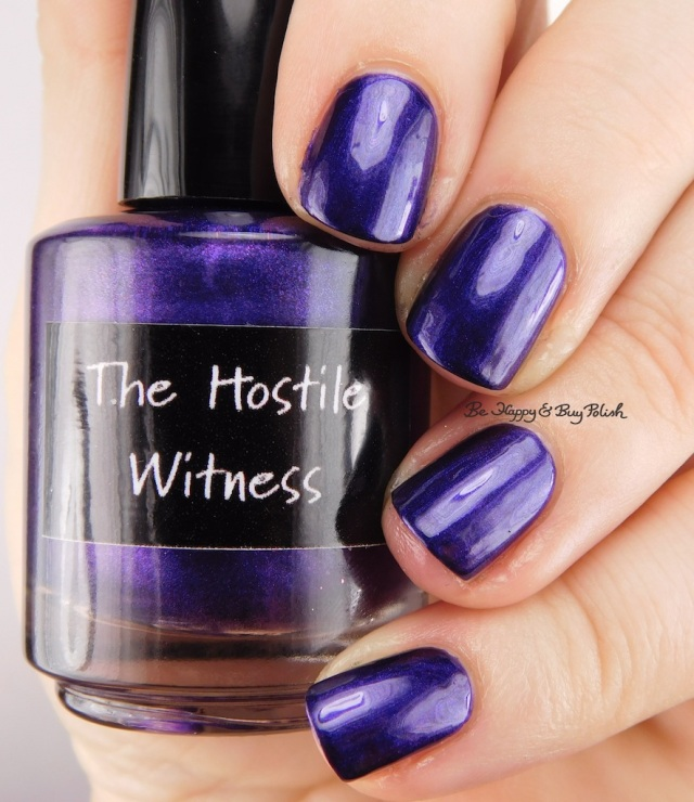 CrowsToes Nail Color The Hostile Witness | Be Happy And Buy Polish