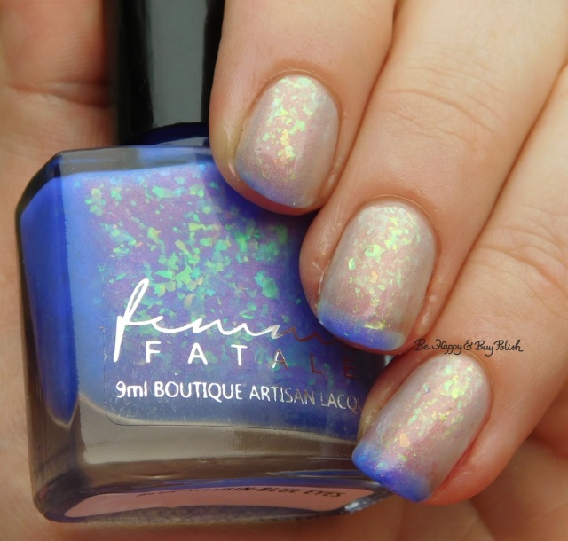 Femme Fatale Blue-Within-Blue Eyes transition state | Be Happy And Buy Polish