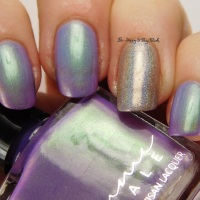 Femme Fatale Cosmetics Glass Coffin swatch + review