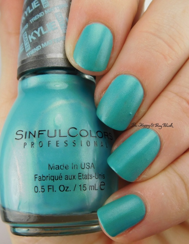 SinfulColors Kold Kash Kylie Trend Matters Satin | Be Happy And Buy Polish