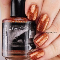 CrowsToes Nail Color Your Last Breath, Sleep With One Eye Open, Beyond Your Fears [Hella Holo Customs nail polishes]