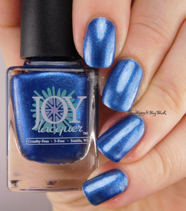 Joy Lacquer Crush on the Blue-Eyed Boy | Be Happy And Buy Polish