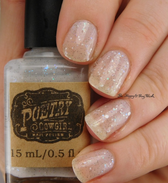 Poetry Cowgirl Snowfall | Be Happy And Buy Polish