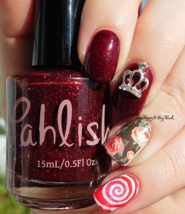 Queen of Roses birthday nail art sun photo | Be Happy And Buy Polish