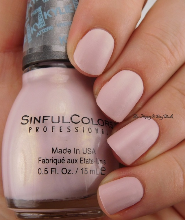 SinfulColors Kitty Pink Kylie Trend Matters Satin | Be Happy And Buy Polish