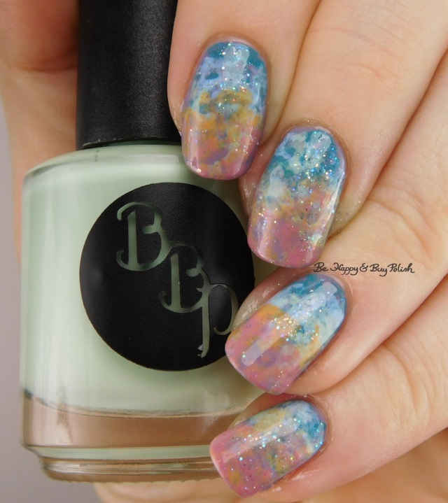 Bad Bitch Polish Southern Hemisphere nail art | Be Happy And Buy Polish