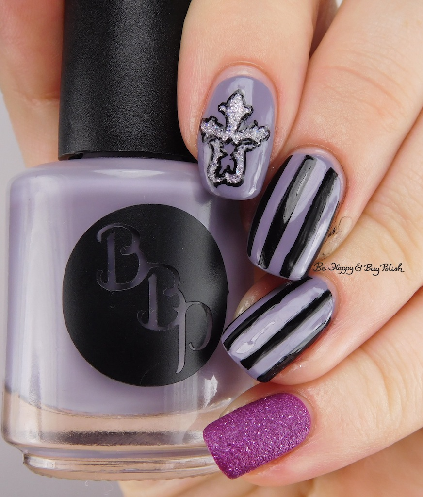 Gothic Nail Art with Bad Bitch Polish You\'re a Star(ling), OPI My ...