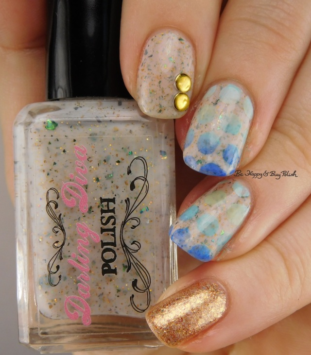 Darling Diva Polish Old King Billy Had a Ten Foot Willie, Lemming Lacquer March 2016 nail art | Be Happy And Buy Polish