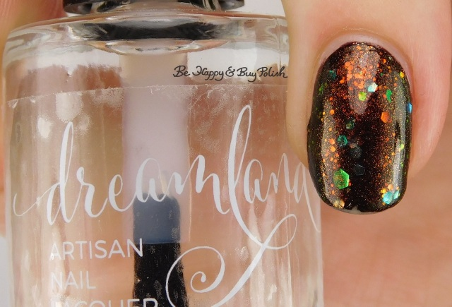 Dreamland Lacquer Ooh Shiny left hand | Be Happy And Buy Polish